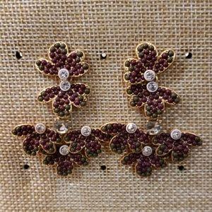 Stella & dot Lindley chandelier earrings